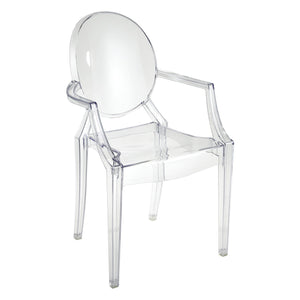 Clarity Arm Chair Set of 2