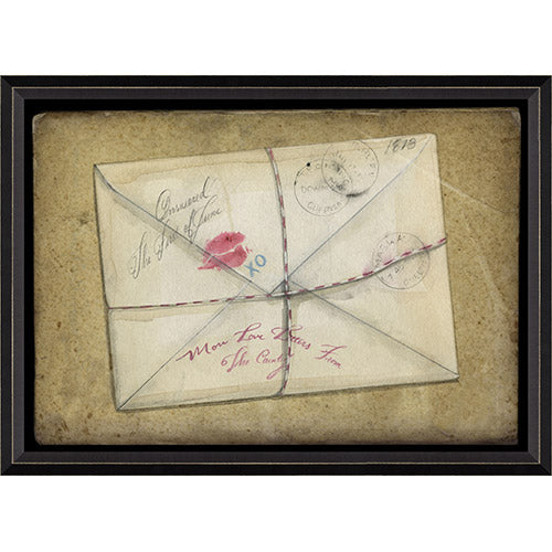 Love Letters from the Country Framed Print