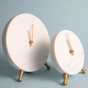 Orville Marble Clock