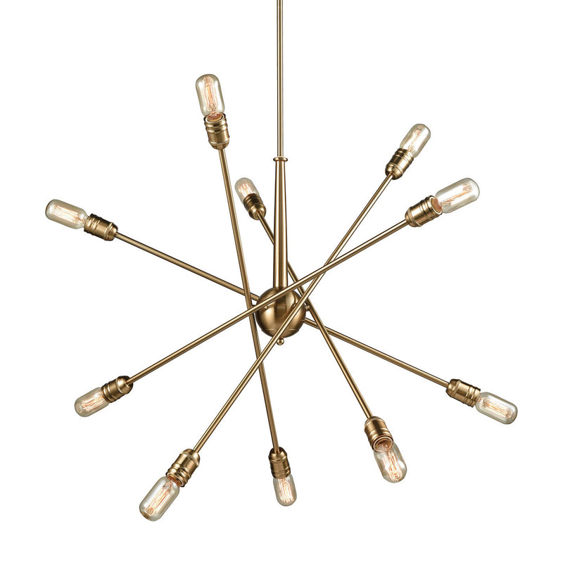 Currier 10-Light Chandelier
