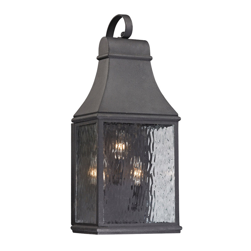 Neville 3-Light Outdoor Wall Sconce