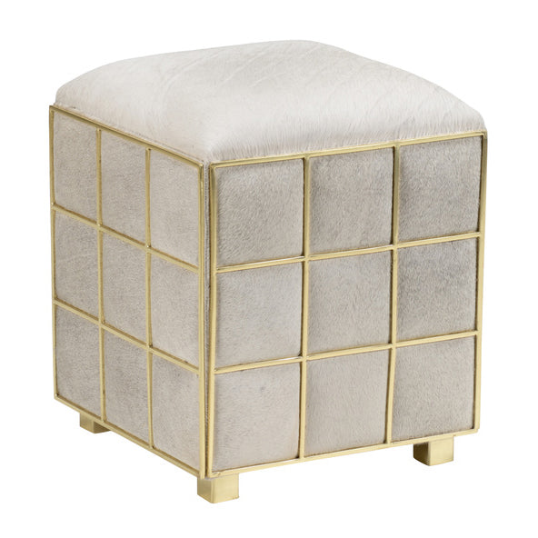 Wildwood Square Hide Stool