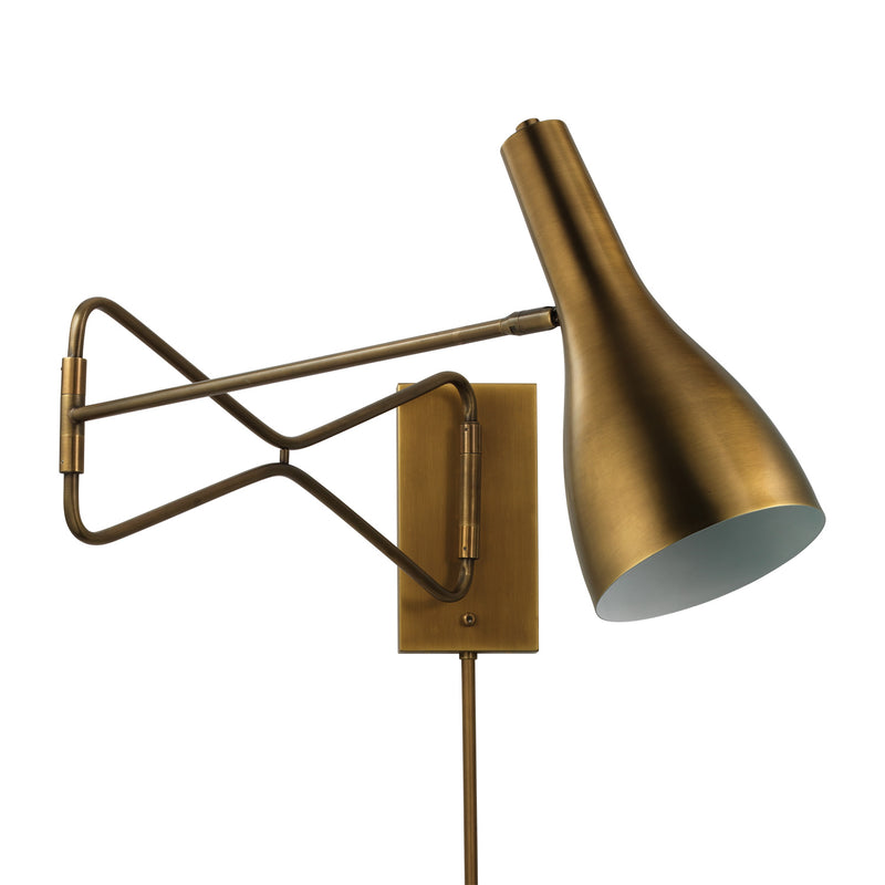 Jamie Young Lenz Swing Arm Wall Sconce