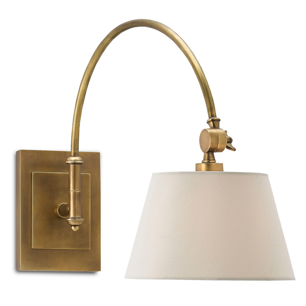 Currey & Co Ashby Swing Arm Wall Sconce
