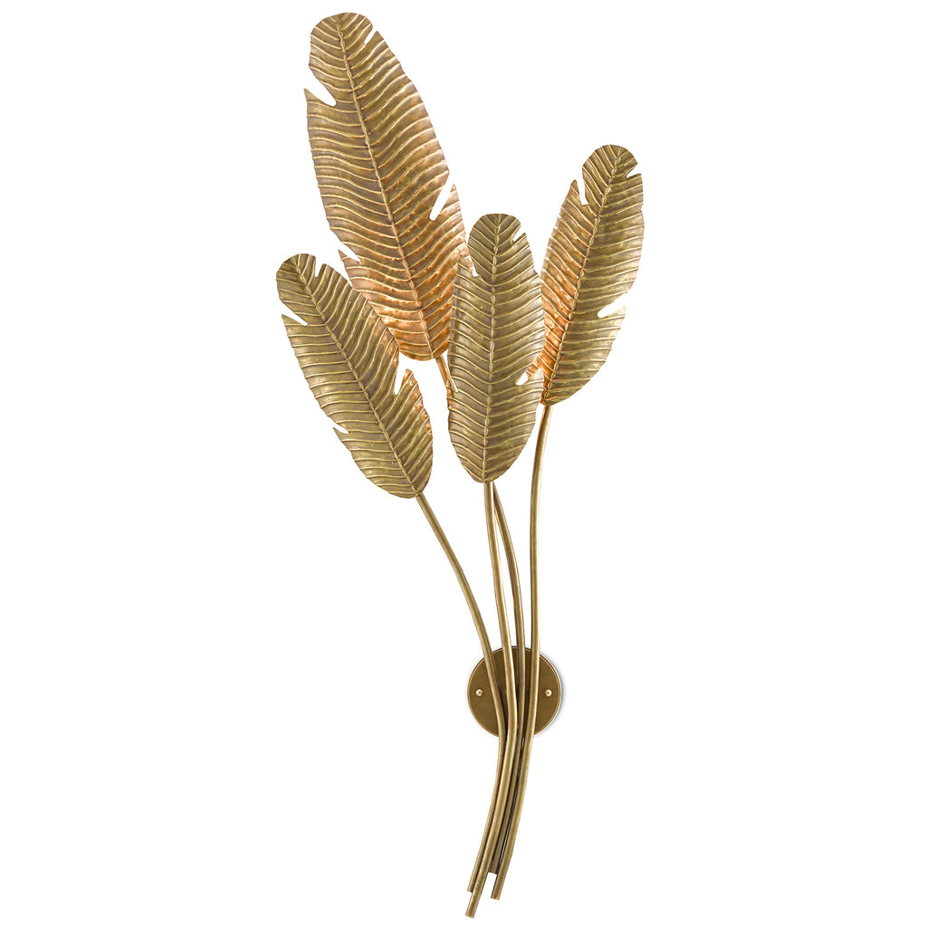 Currey & Co Tropical Wall Sconce