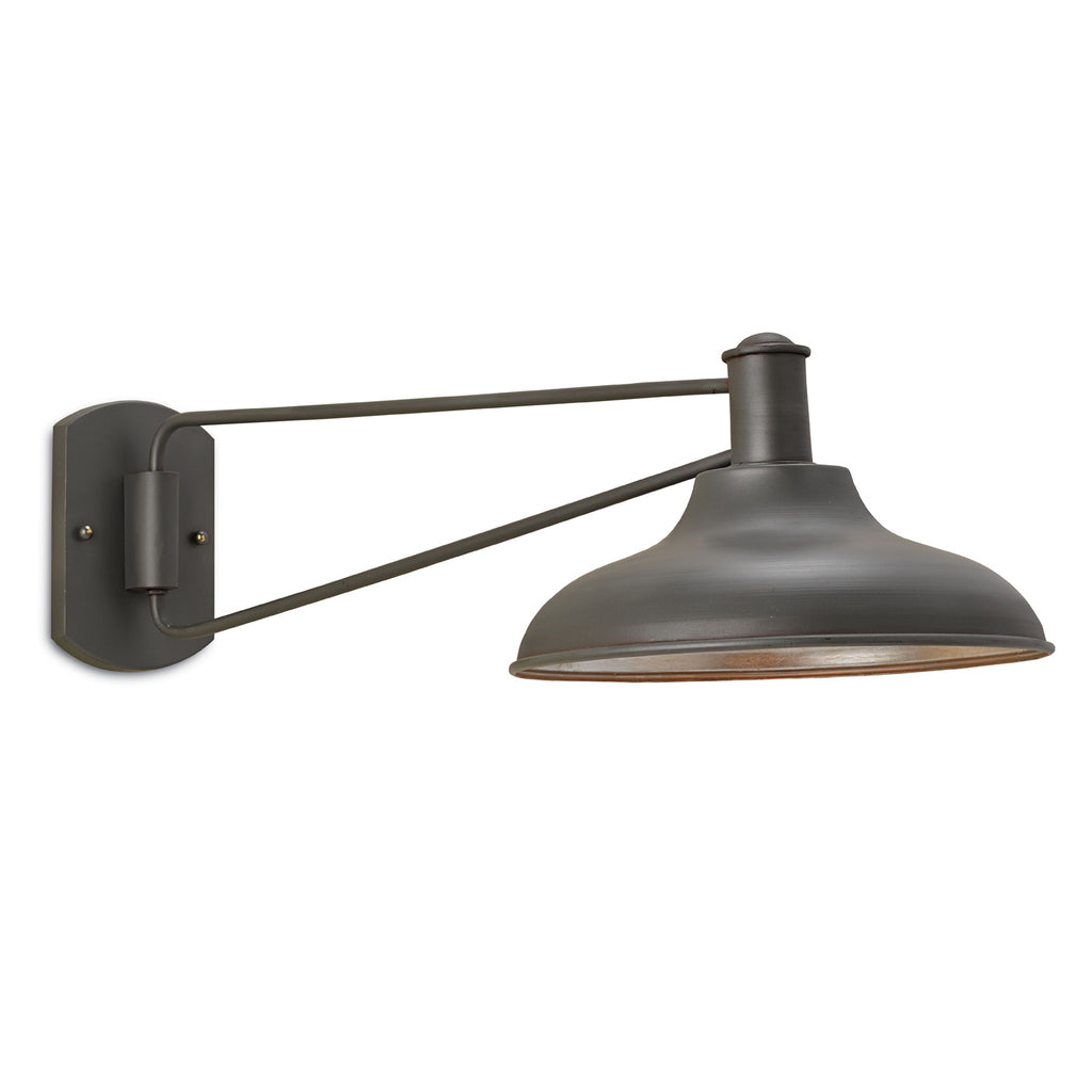 Currey & Co Bookclub Swing Arm Wall Sconce