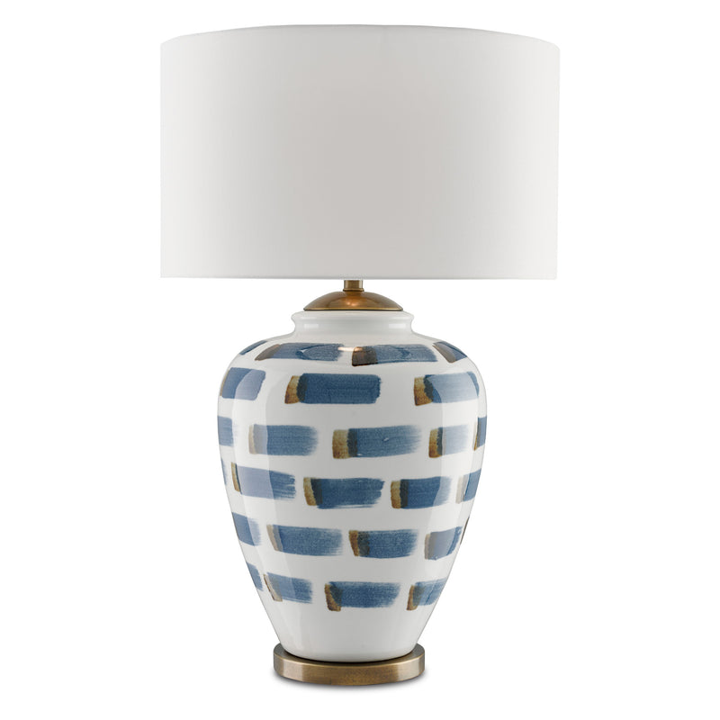 Currey & Co Brushstroke Table Lamp