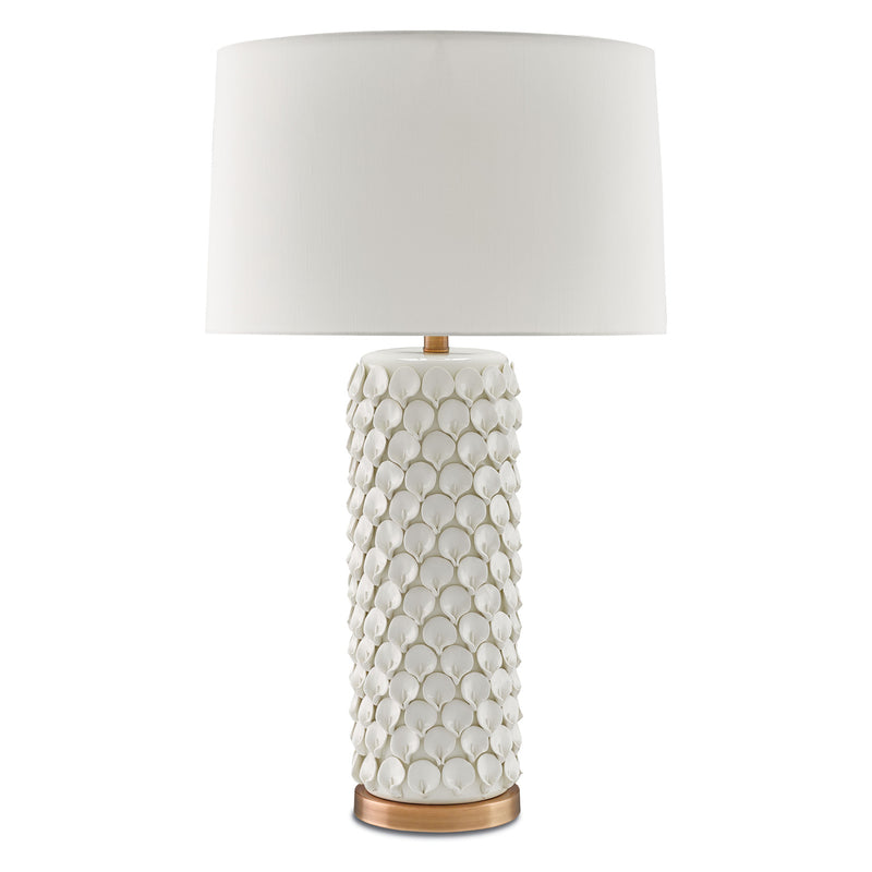 Currey & Co Calla Lily Table Lamp