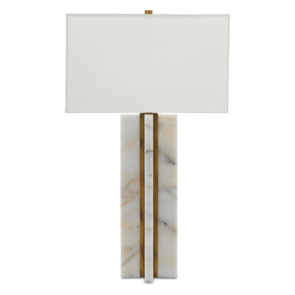 Currey & Co Khalil Wide Table Lamp