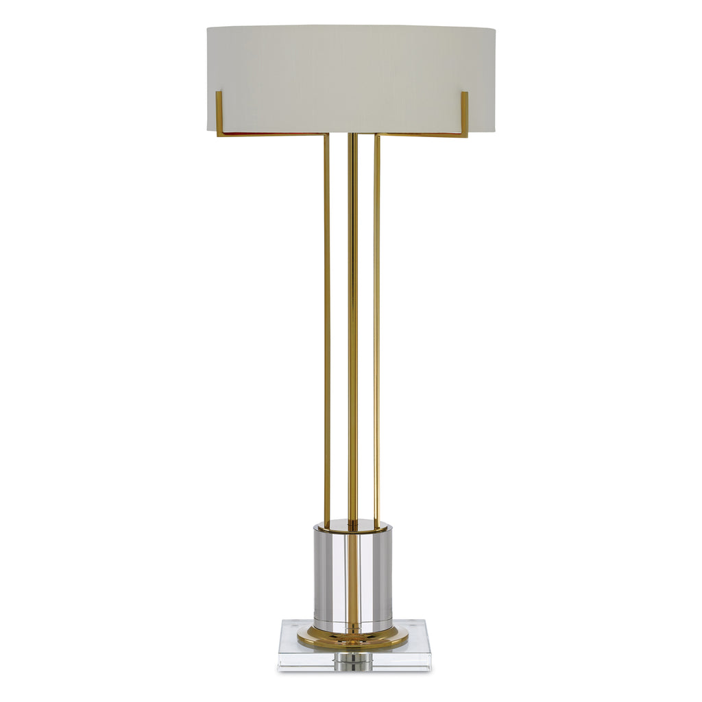 Currey & Co Winsland Brass Table Lamp