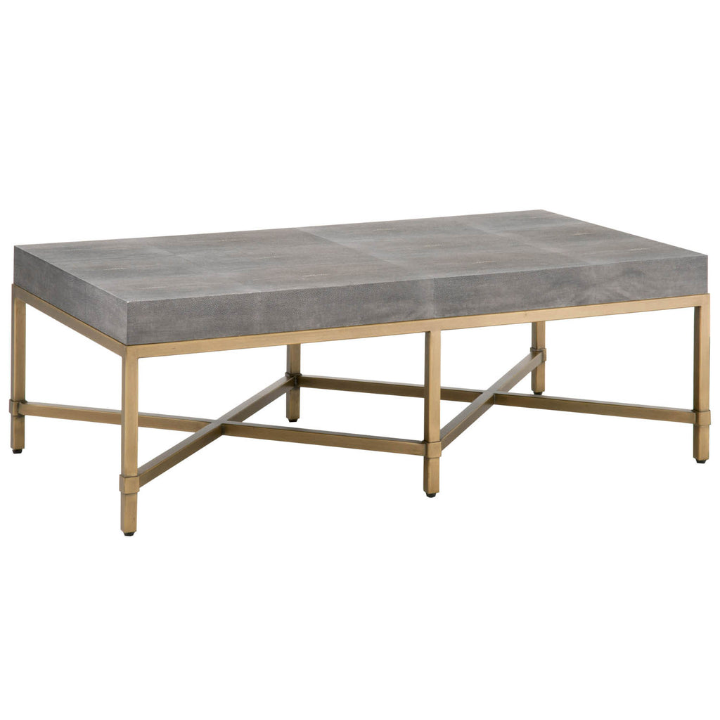 Kendall Shagreen Coffee Table