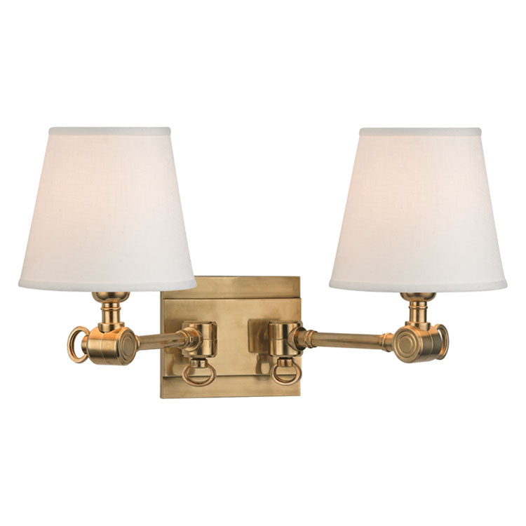 Hudson Valley Hillsdale Double Wall Sconce