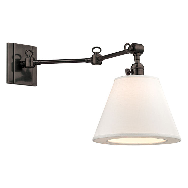 Hudson Valley Hillsdale Swing Arm Wall Sconce
