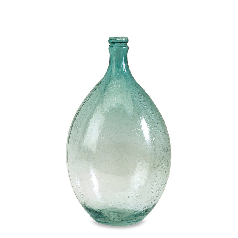 Oceana Medium Bubble Glass Bottle