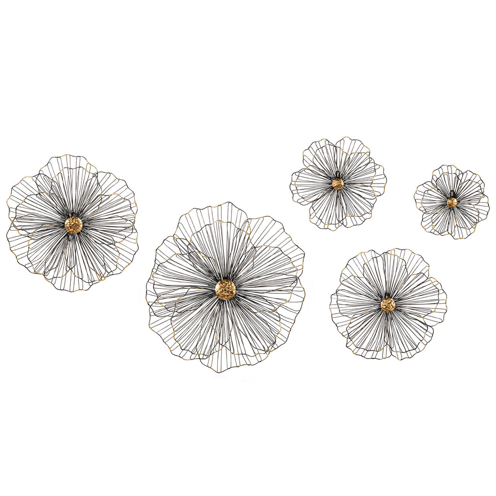Lulu Wire Wall Decor Set of 5