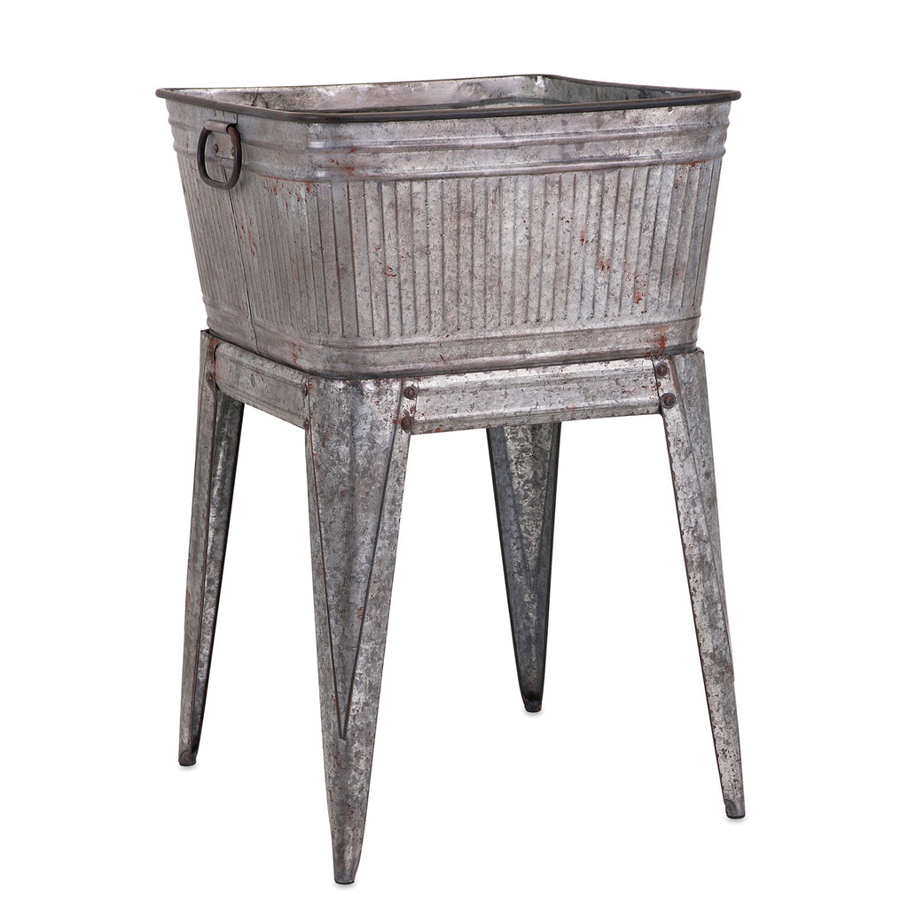 Clover Galvanized Tub on Stand