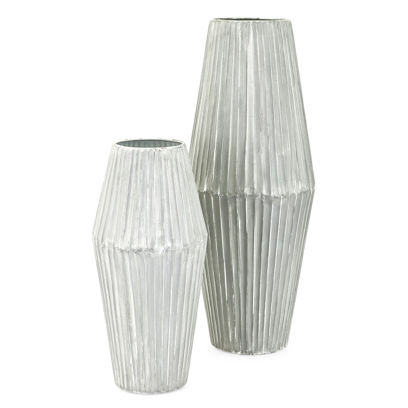 Beals Metal Vase Set of 2