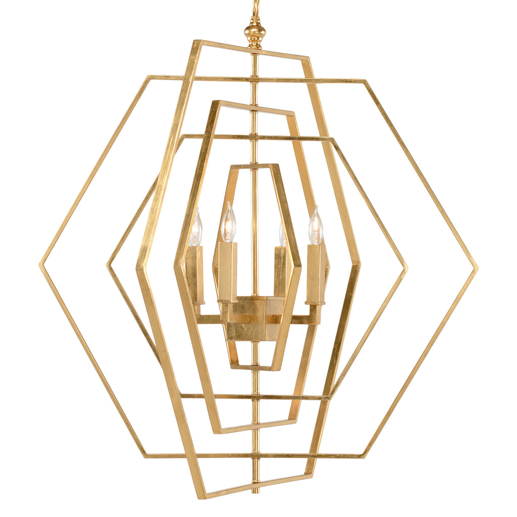 Chelsea House Hexagon Chandelier
