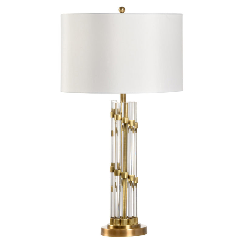 Chelsea House Petite Column Table Lamp