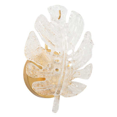 Chelsea House Leaf Wall Sconce