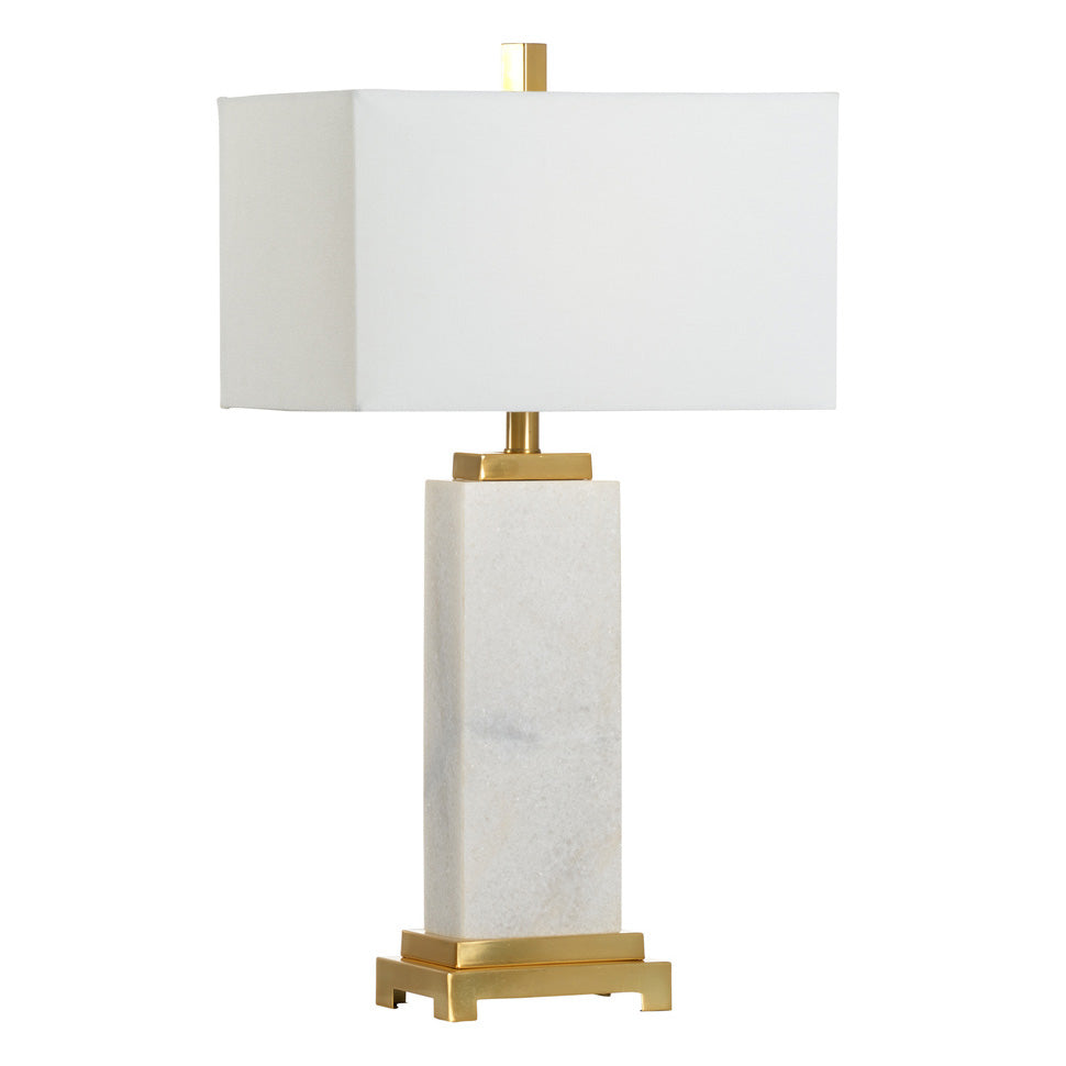 Chelsea House Kennedy Marble Table Lamp
