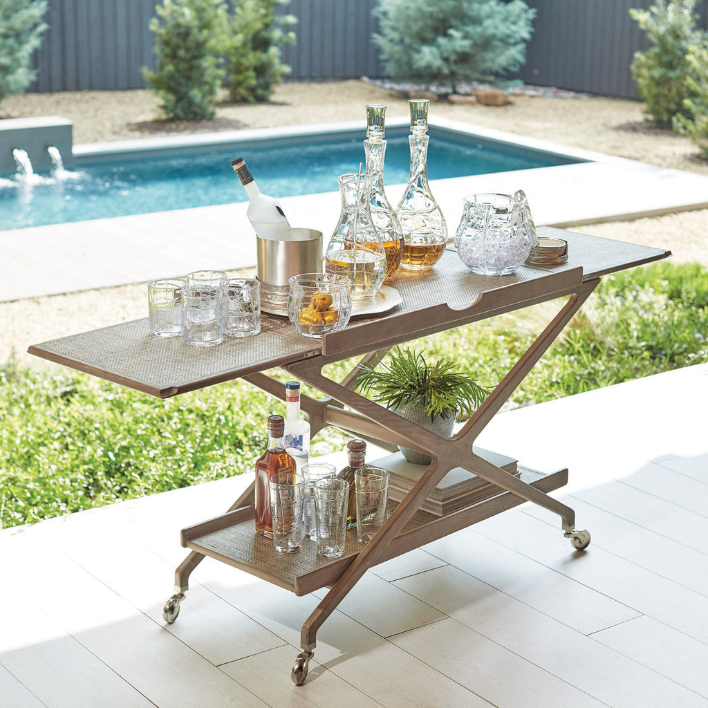 Studio A Campaign Bar Cart