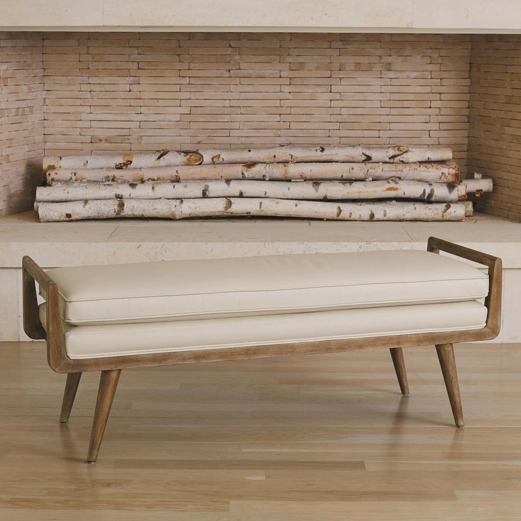 Studio A Lucas Beige Long Bench