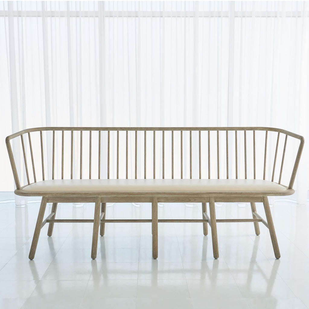 Studio A Spindle Long Bench