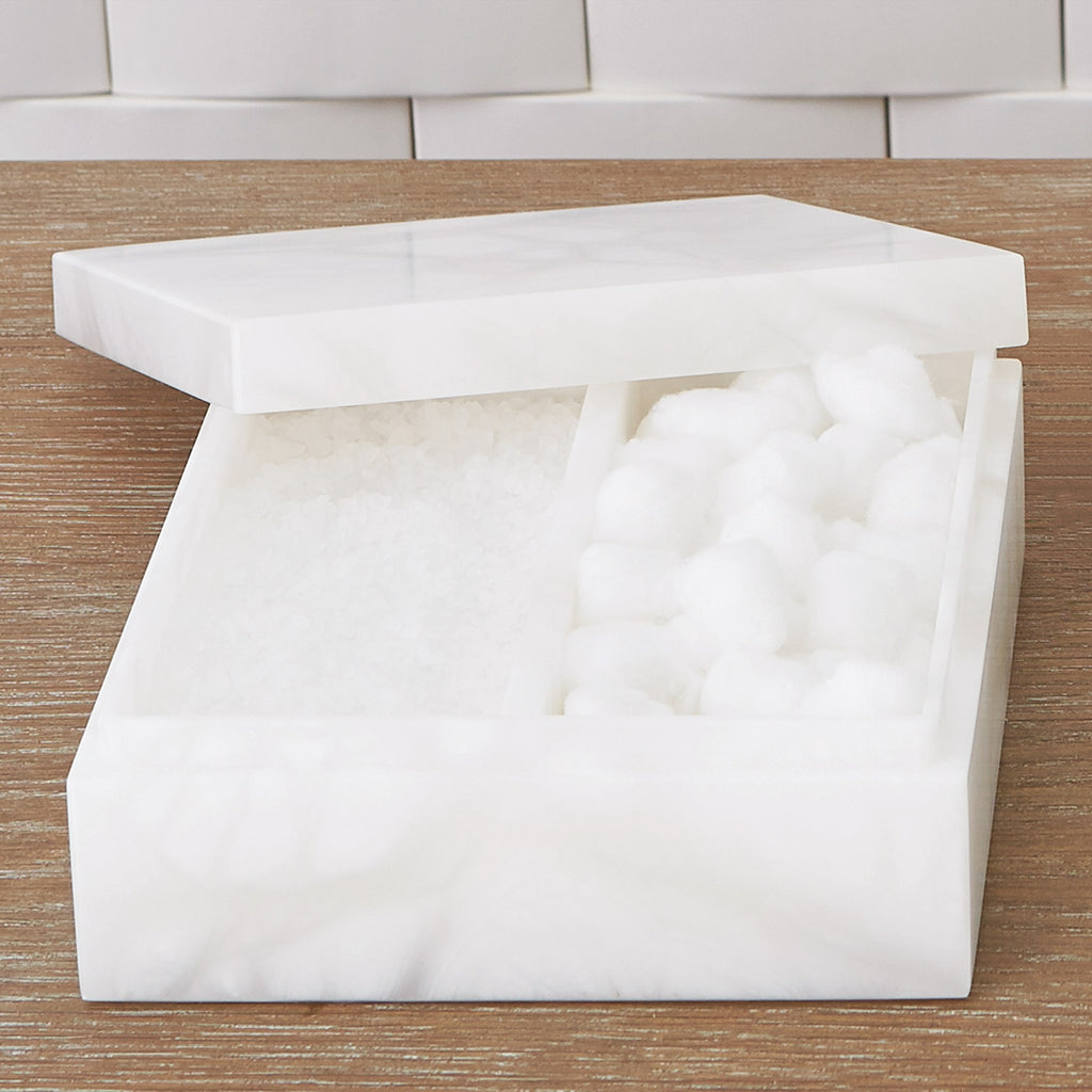 Studio A Alabaster Amenities Box