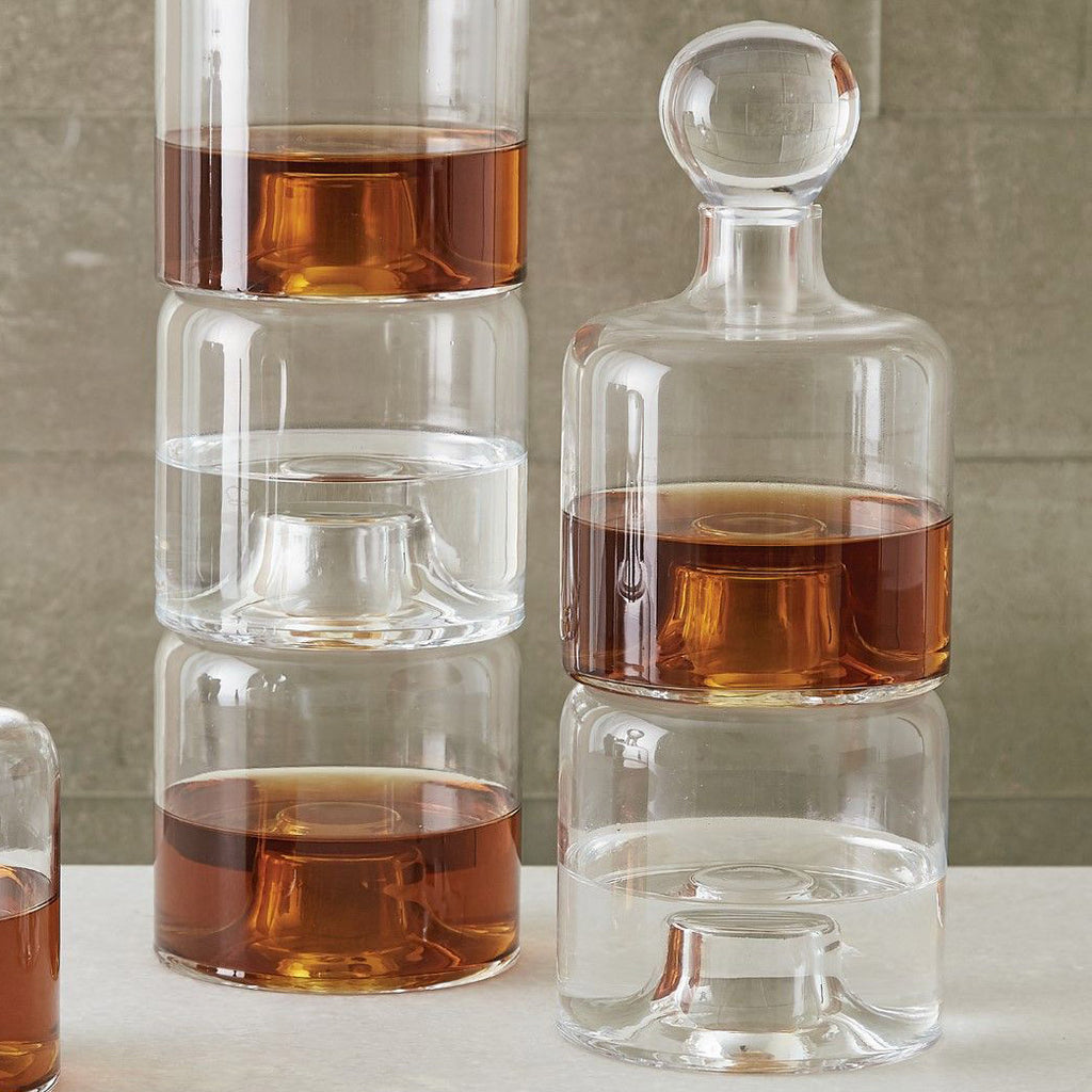 Studio A Double Stacking Decanter
