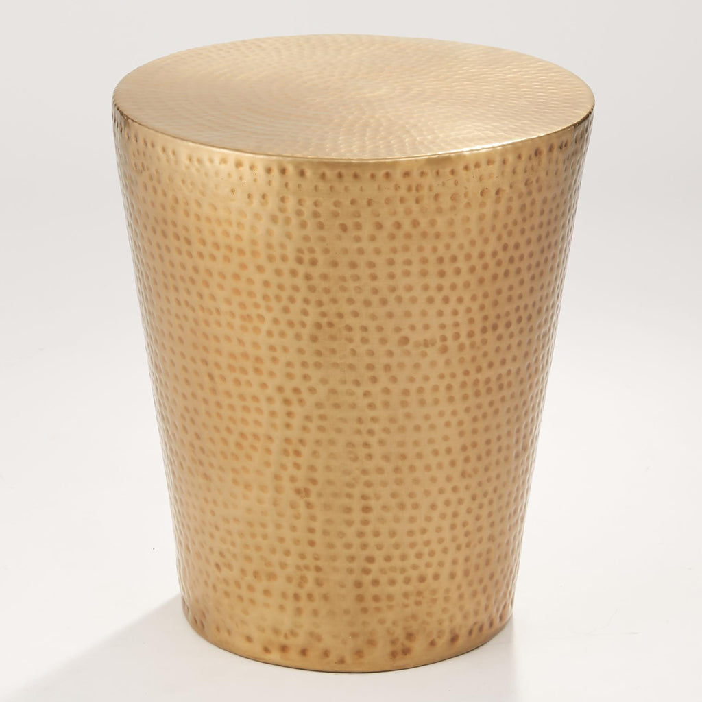 Studio A Izmir Hammered Side Table