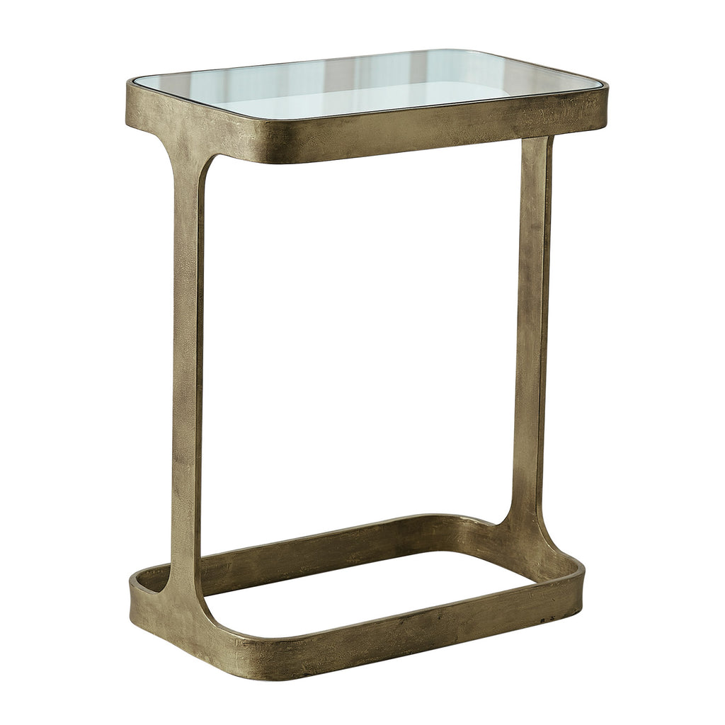 Studio A Saddle Side Table
