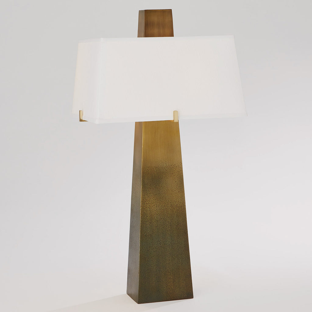 Studio A Stoic Ombre Brass Table Lamp