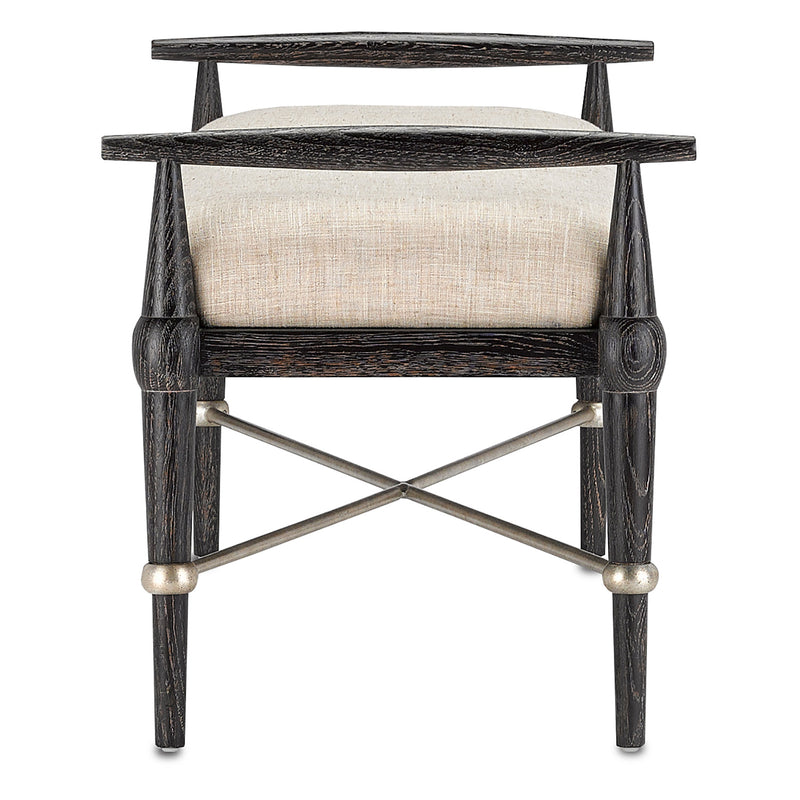 Currey & Co Perrin Natural Bench