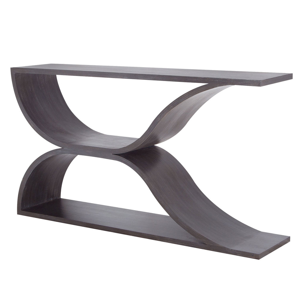 Lyric Abstract Wave Sofa Table