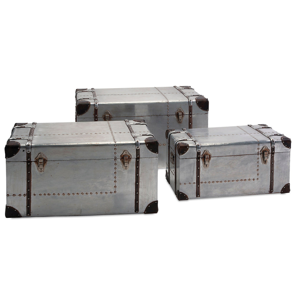 Aurora Aluminum Trunk Set of 3