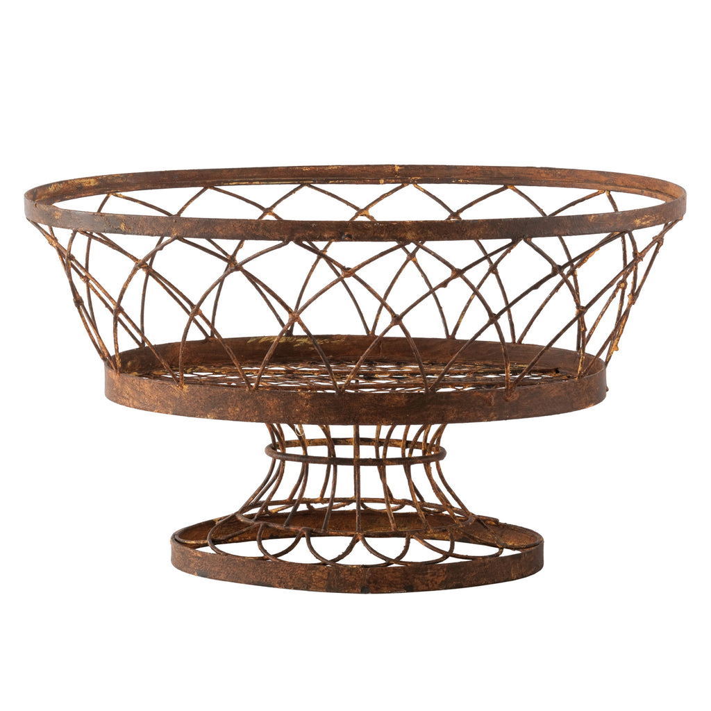 Aidan Gray Indoor/Outdoor Oval Large Basket Set of 2