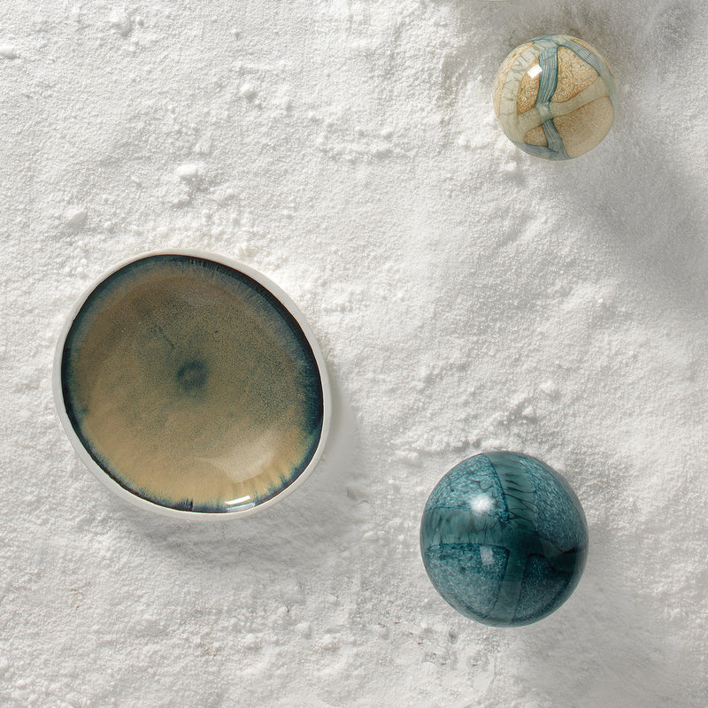 Jamie Young Cosmos Glass Orb Set of 2