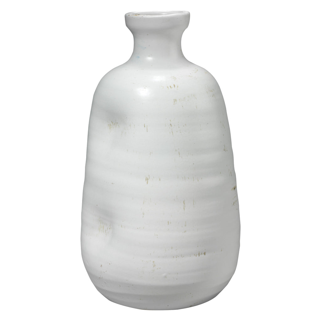 Jamie Young Dimple White Vase