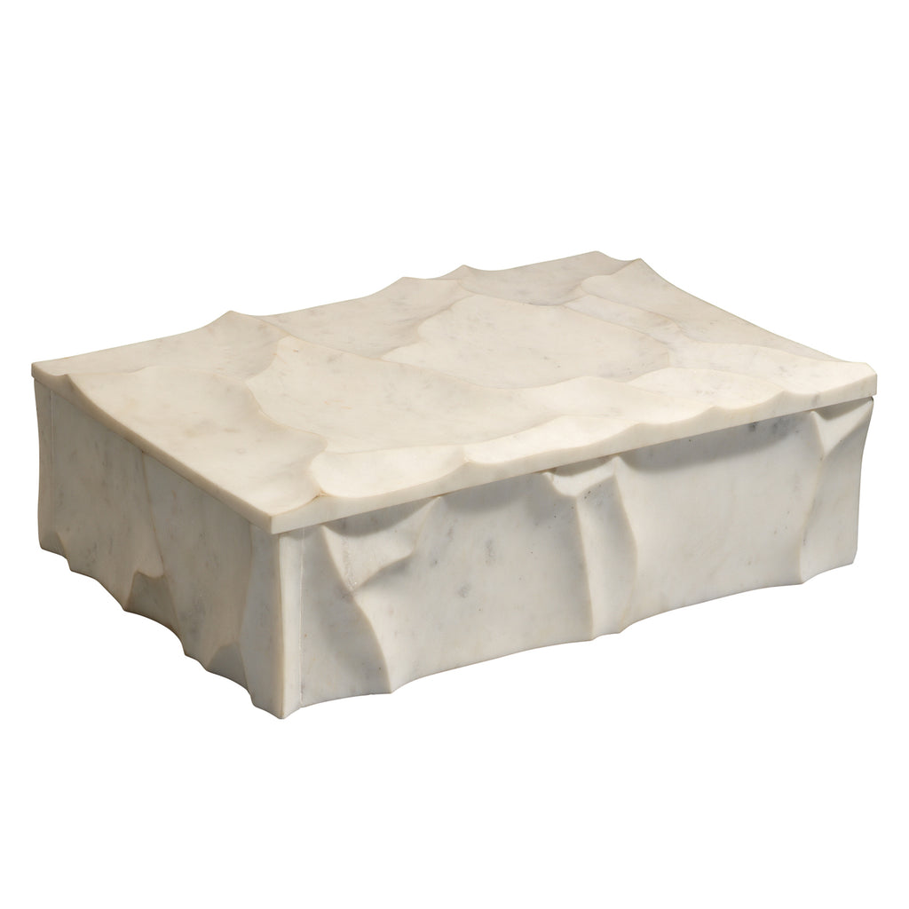 Jamie Young Everest Marble Box