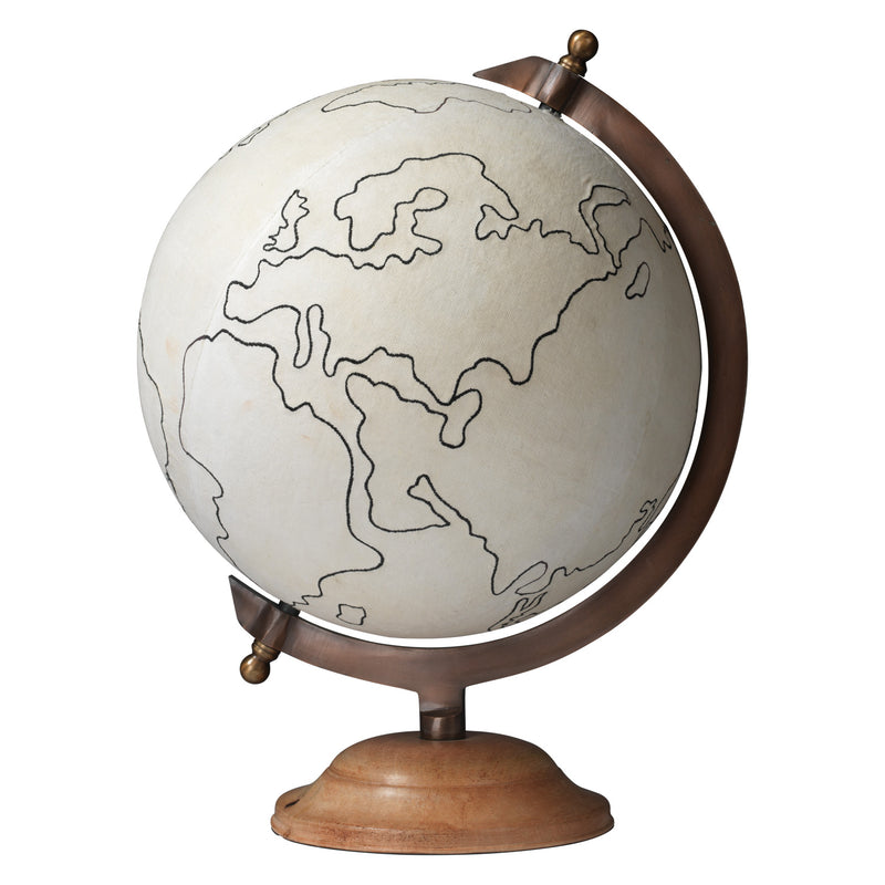 Jamie Young Canvas Globe