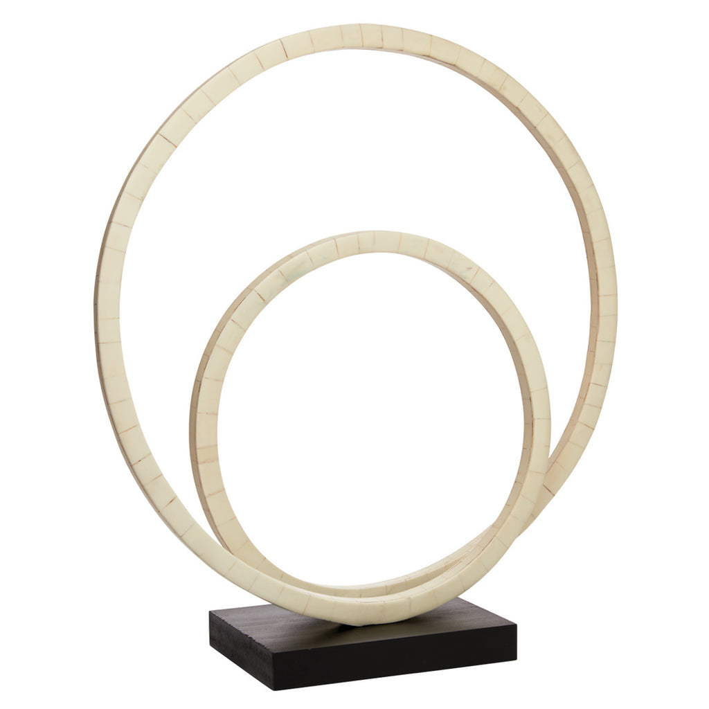 Jamie Young Helx Double Ring Sculpture