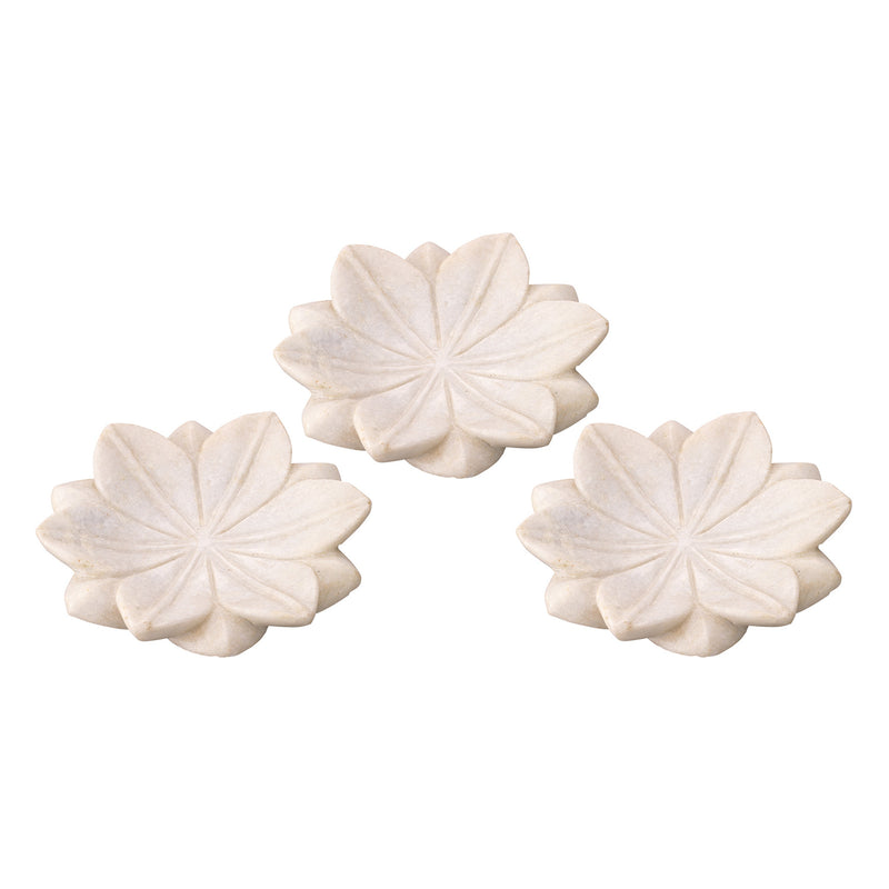 Jamie Young Lotus Plate Set of 3