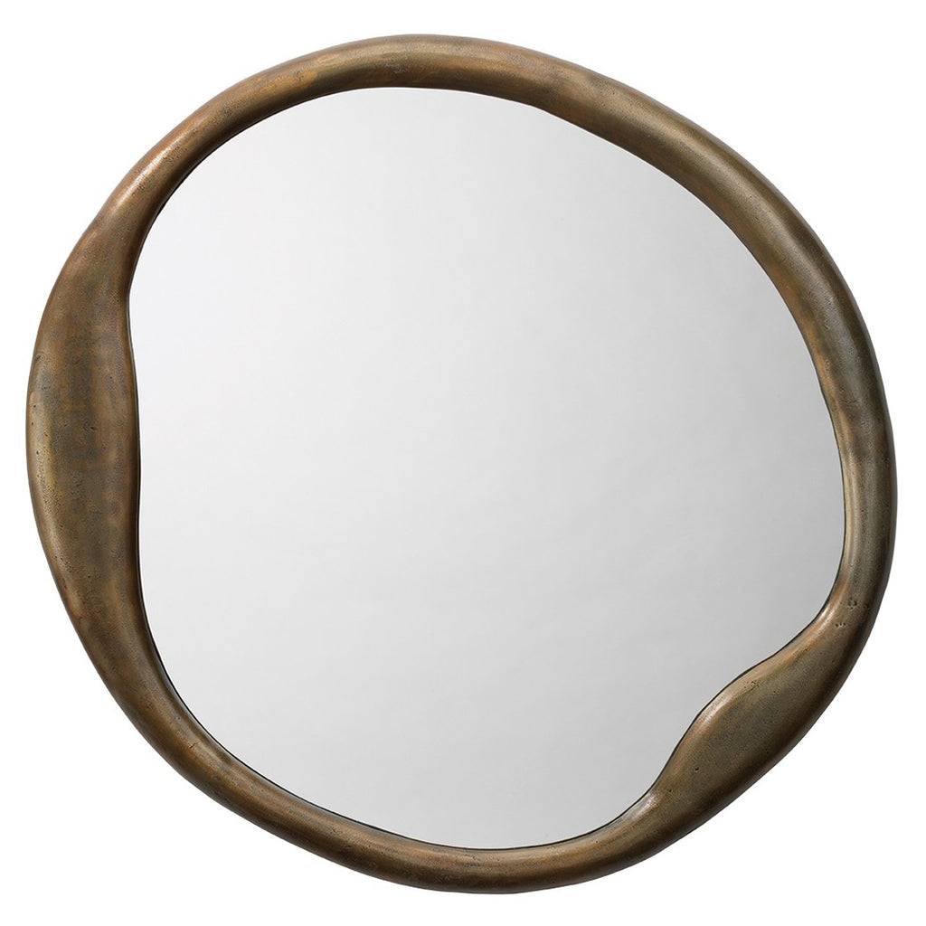 Jamie Young Organic Round Wall Mirror