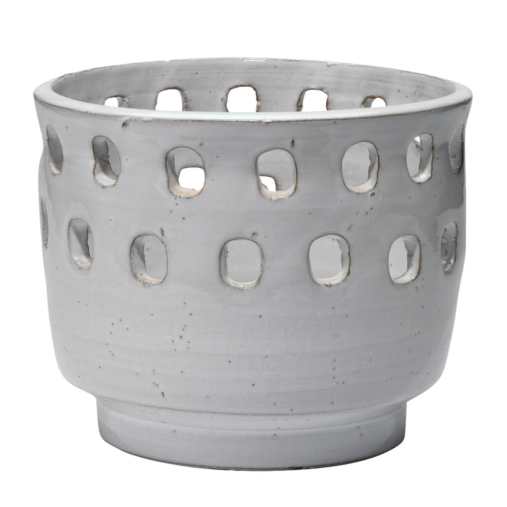 Jamie Young Perforated Pot