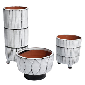 Jamie Young Striae Vessel Set of 3