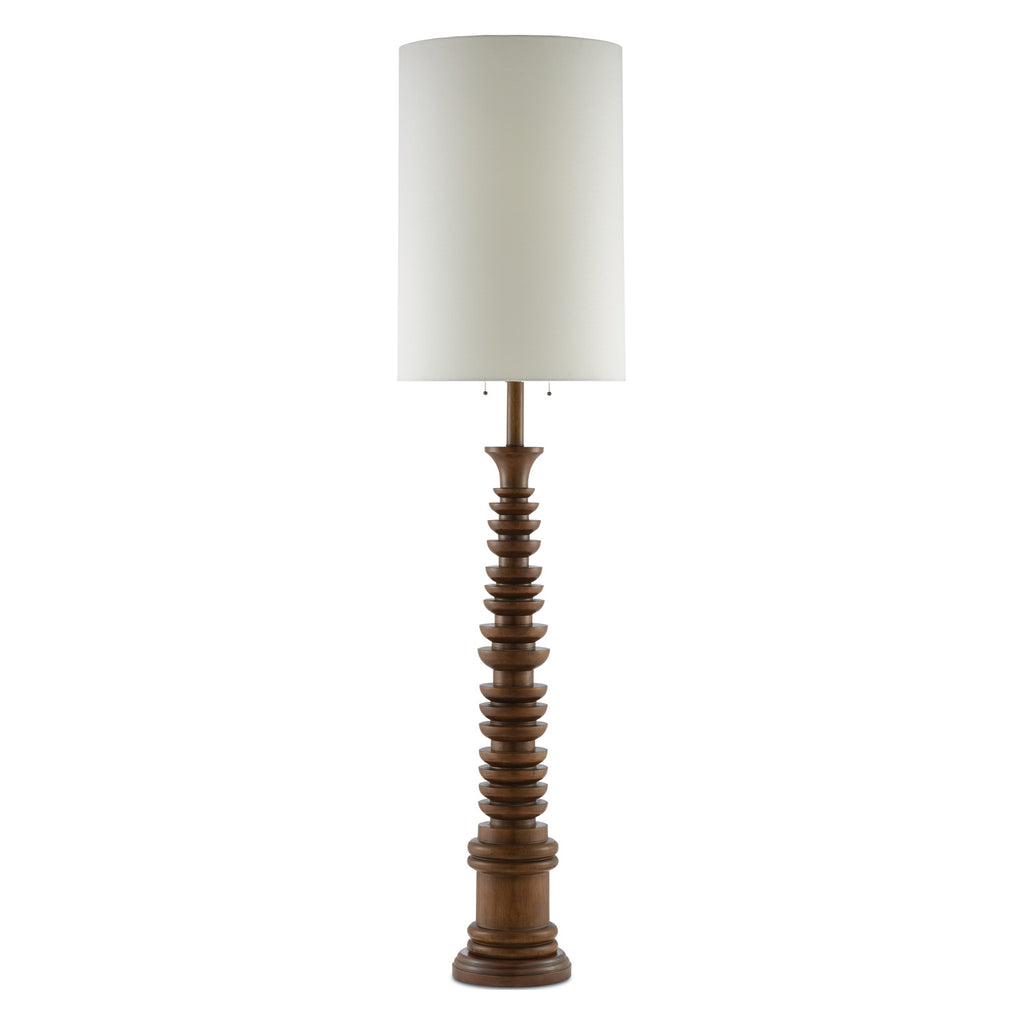 Currey & Co Malayan Floor Lamp