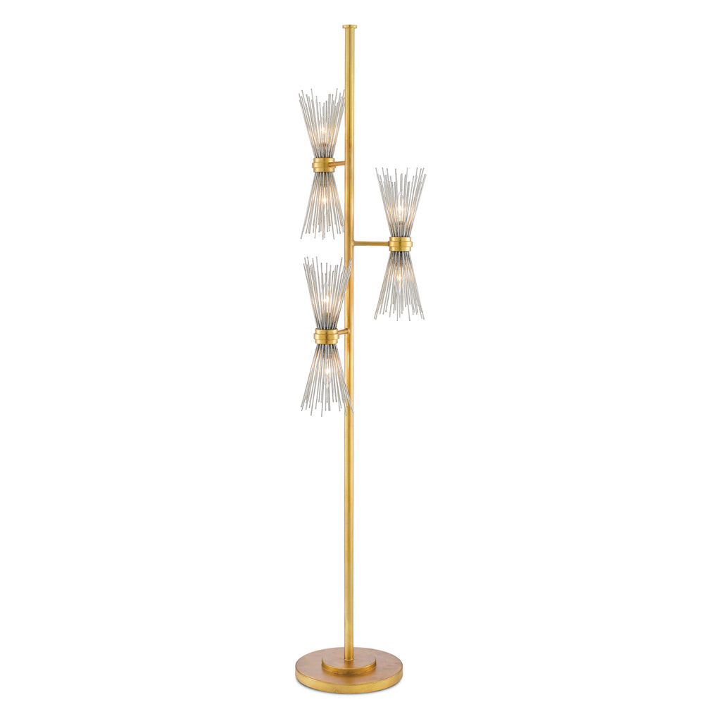 Currey & Co Novatude Floor Lamp