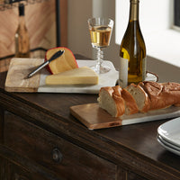 Everett Marble & Wood Cheese Board