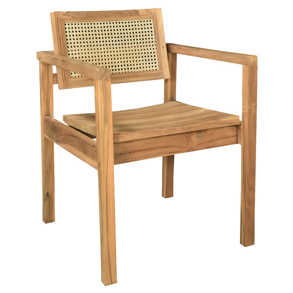 Humboldt Caned Teak Chair